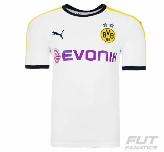 camiseta - Camisa Puma Borussia Dortmund Third 2016 - R  89 94c4a9a4a4959