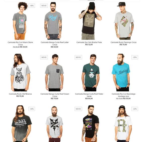 226a7bdaf4 5 Camisetas por R  199