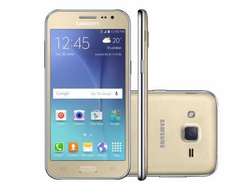 celular smartphone - Celular Smartphone Samsung Galaxy J2 - R$ 599,90
