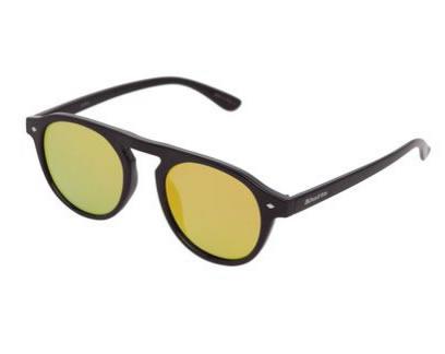 oculos3 - Óculos de Sol Khatto Arredondado Preto - R  74,99 a7b7b856be