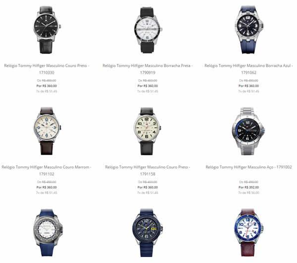 a43f385af08 relogios tommy - Saldão de Relógios Tommy Hilfiger - A partir de R  360