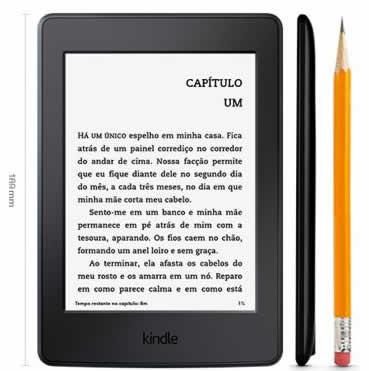 kindle - Kindle Paperwhite AO0456 4GB, Wi-Fi - R$ 399,90