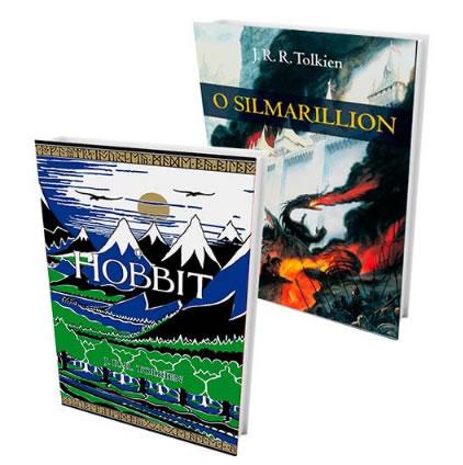 livro - Kit Livros - O Hobbit + O Silmarillion - R$ 26,31