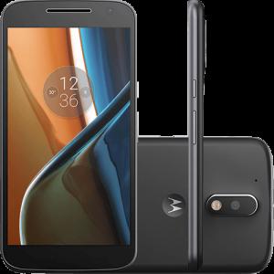 """motog - Smartphone Moto G 4 Dual Chip Tela 5.5"""" 16GB Câmera 13MP – Preto"""