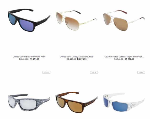 oakley oculos - Saldão de Óculos Oakley a partir de R$ 251,99