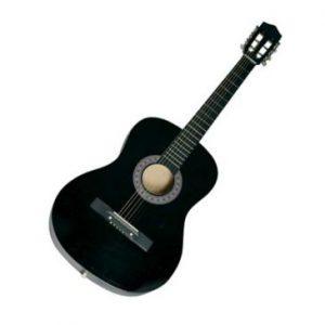 violao - Violão Queen's D137516 Estudante, Cordas em Aço - Preto - R$ 129,90
