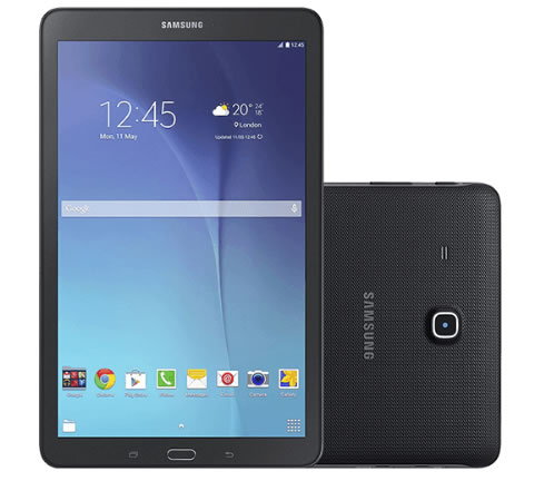 "galaxy - Tablet Samsung Galaxy Tab E T560 8GB Wi-Fi Tela 9.6"" - R$ 674,99"