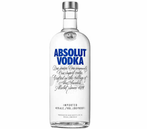 vodka absolut - Vodka Absolut Original 1 Litro - R$ 60,63
