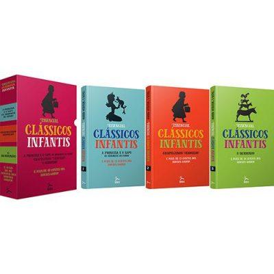 box grim - Livro – Box Essencial: Clássicos Infantis (Contos dos Irmãos Grimm 3 Volumes) - R$ 15,12