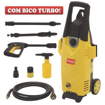 lavajato - Lavadora Alta Pressão Intech Machine Arizona 1600 Libras 1400W Amarela - R$ 299,90