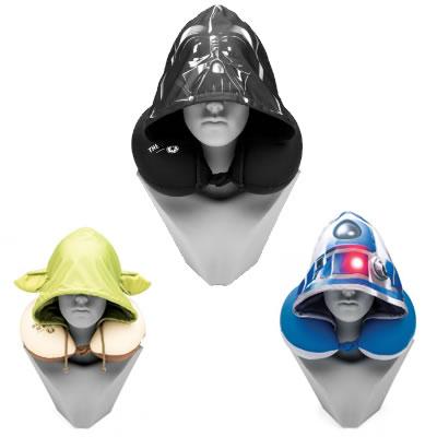 almofada pescoco - Imaginarium - Almofada Com Capuz Star Wars - R$ 59,90 cada
