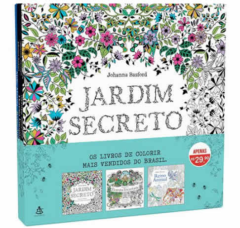 livro colorir - Livro - Coleção Livros de Colorir - R$ 9,90