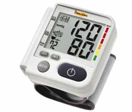 medidor pressao - Medidor de Pressão Digital Automático de Pulso Premium - R$ 69,90