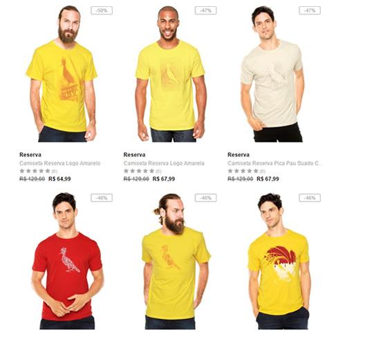 camiseta reserva - Camiseta Reserva - R$ 59,99