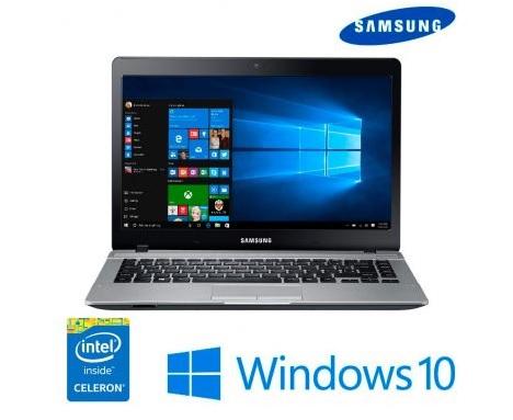 notebook - Notebook Samsung Essentials E20 Dual Core, 4GB, 500GB - R$1.599,00