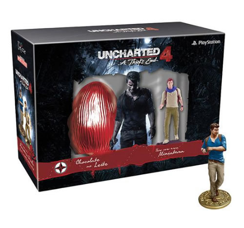 ovo uncharted - Ovo de Páscoa Uncharted 4 Ao Leite 150g - D'elicce - R$ 59,99