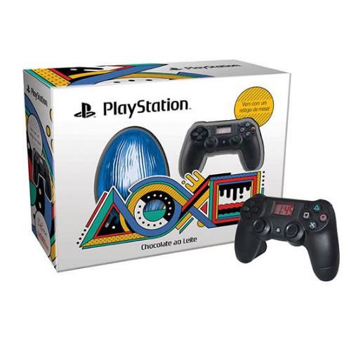 playstation - Ovo de Páscoa Playstation Brand Ao Leite 150g - D'elicce - R$ 59,99