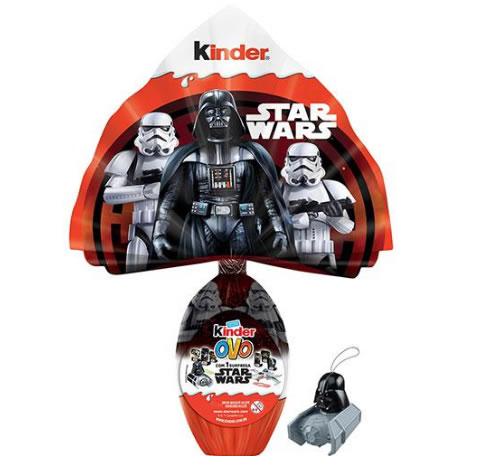 starwars - Ovo de Páscoa Maxi Star Wars Ao Leite 100g - Kinder - R$ 37,99