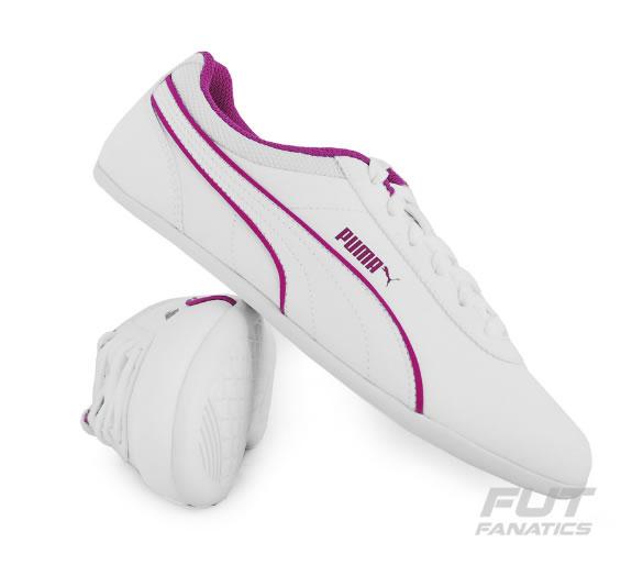 tenis puma 1 - Tênis Puma Myndy 2 Feminino Branco - R$ 109,90