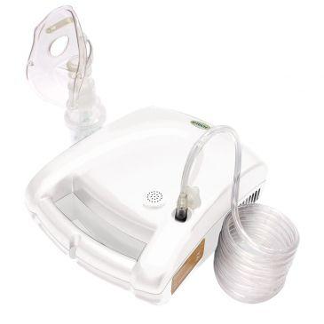 Inalador - Inalador e Nebulizador G-Tech Nebcom V Branco - R$ 84,90