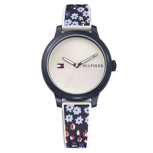 b3f6c5fa33a TO00003160 - Relógio Tommy Hilfiger Feminino Borracha Branco e Azul -  1781778 - TO00003160 - R