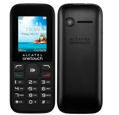 alcatel - Celular Alcatel One Touch OT1050 Preto - Dual Chip - R$ 79,90