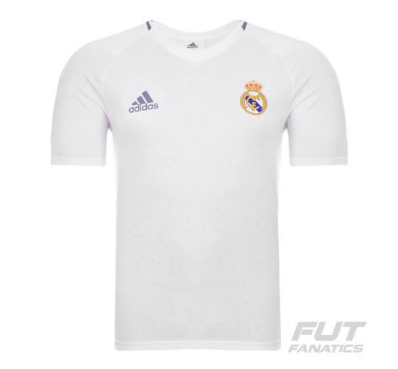 camisa realmadrid - Camiseta Adidas Real Madrid Hino 2016 - R  99 81afd96a95dc8
