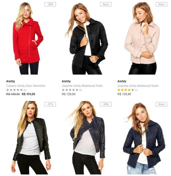 jaquetas casacos - Dafiti - Casacos e Jaquetas - 2 por R  169 4b08f49ca00