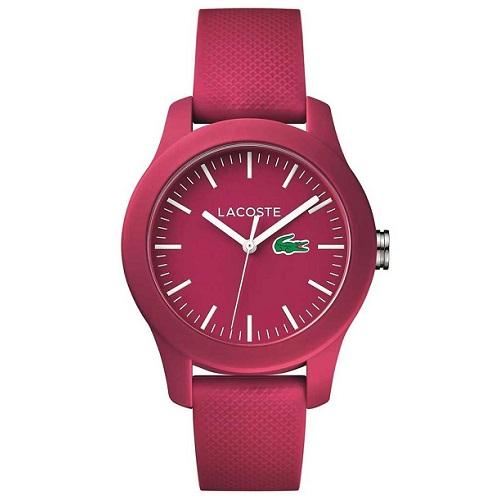lacoste relogio - Relógio Lacoste Feminino Borracha Rosa - 2000957 - LA00000612 - R$ 450,00