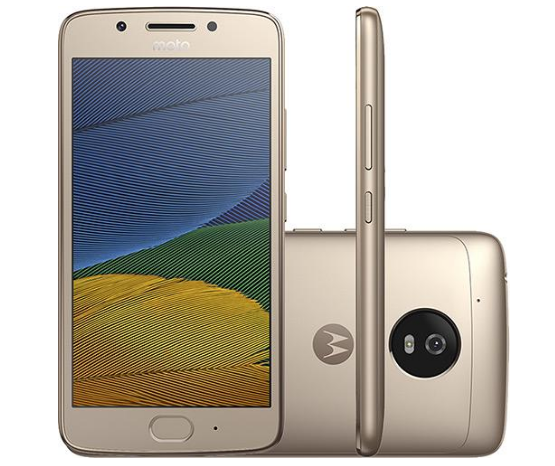 motog5 - Smartphone Moto G 5 Dual Chip Android 32GB 4G - Ouro - R$ 899,10