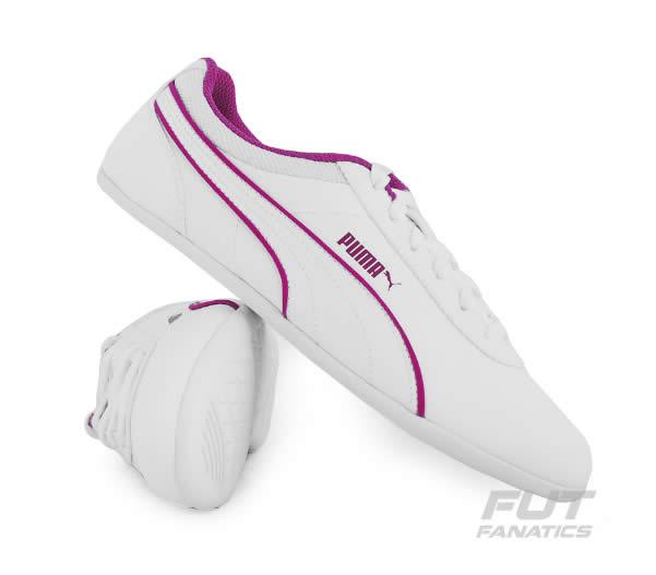 tenis puma feminino - Tênis Puma Myndy 2 Feminino Branco - R$ 109,90