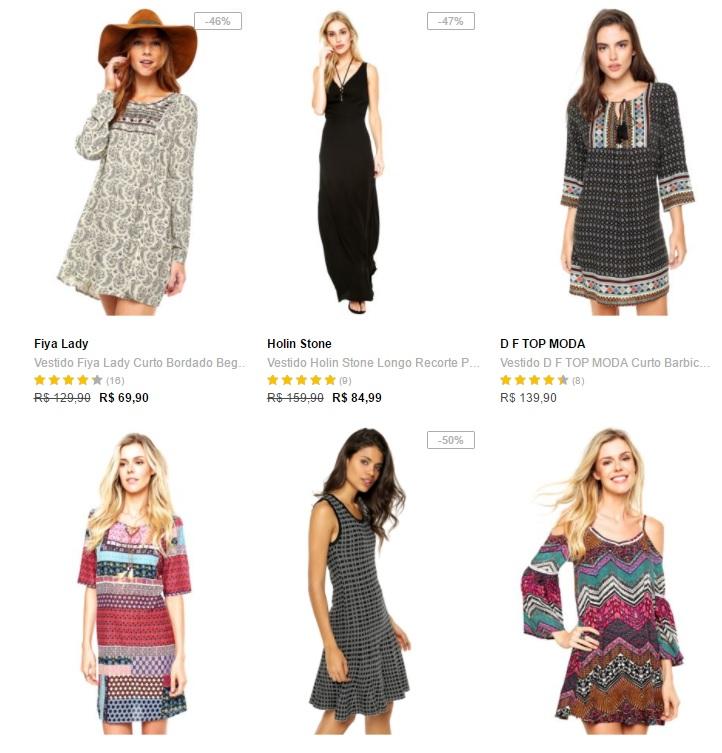 vestidos - Dafiti - Vestidos  Leve 3 23e093576ac