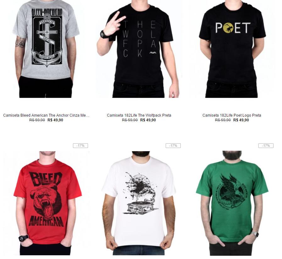 66a025b931 camisetas 1 - Kanui - 4 Camisetas por R 89