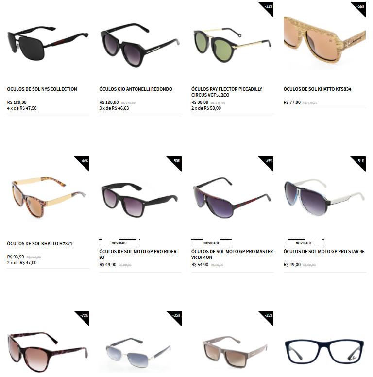 oculos - Zattini - Saldão de Óculos de Sol