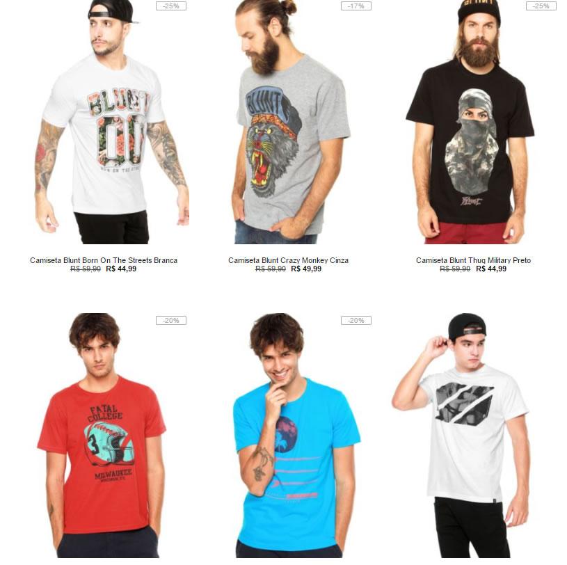 e8495af3b5 camisetas 1 - Kanui - 5 Camisetas por R  149