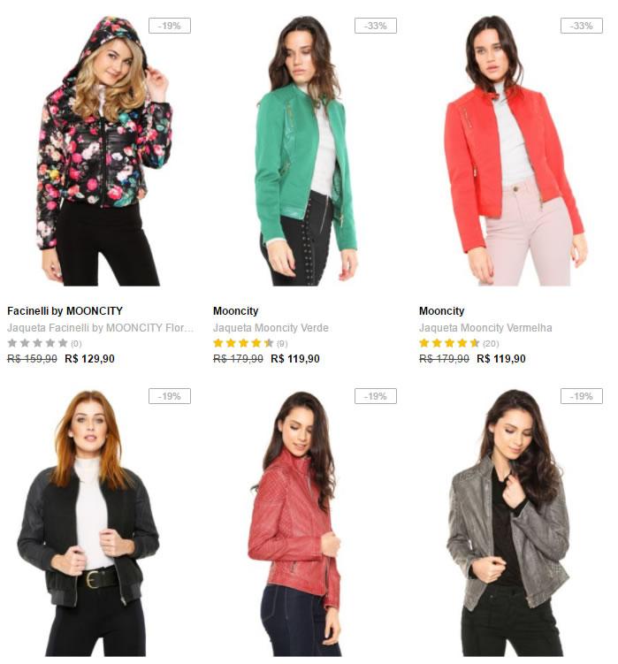 jaquetas - Dafiti - 2 Jaquetas Femininas por R$ 169
