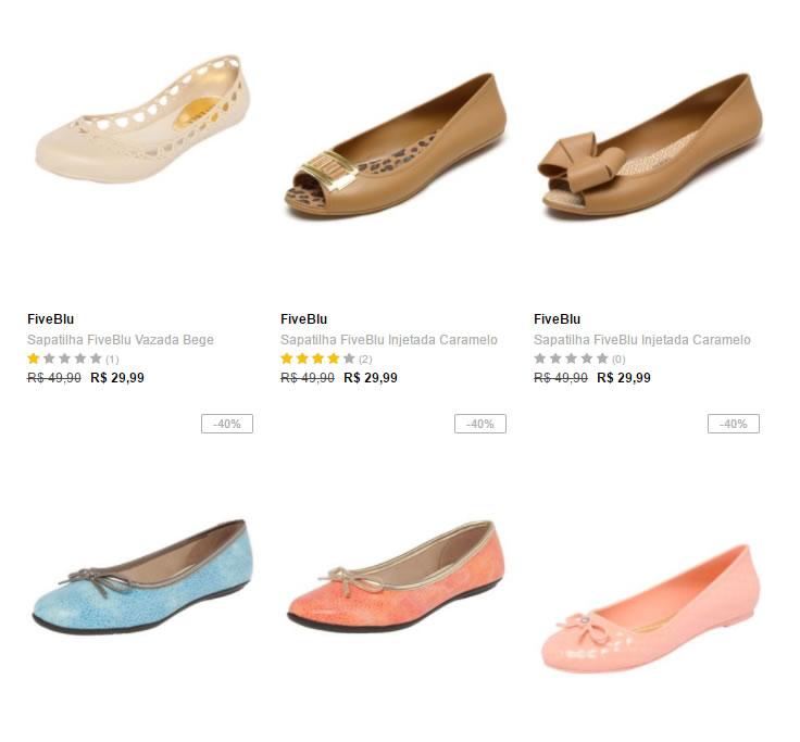 sapatilhas - Dafiti - 4 Sapatilhas por R$ 99