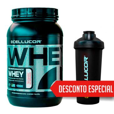 cellucor - Whey Cor-Performance Cellucor + Coqueteleira - R$ 149,90