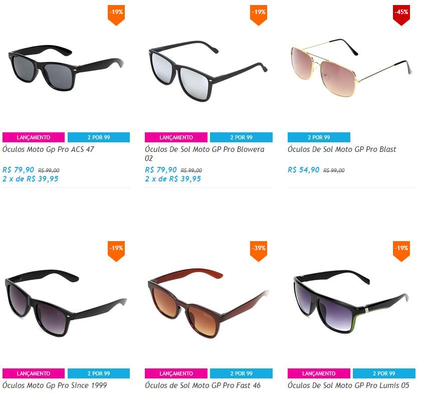 1aa8b6c5cd63c Netshoes - 2 Óculos de Sol por R  99 - Pirata dos Descontos