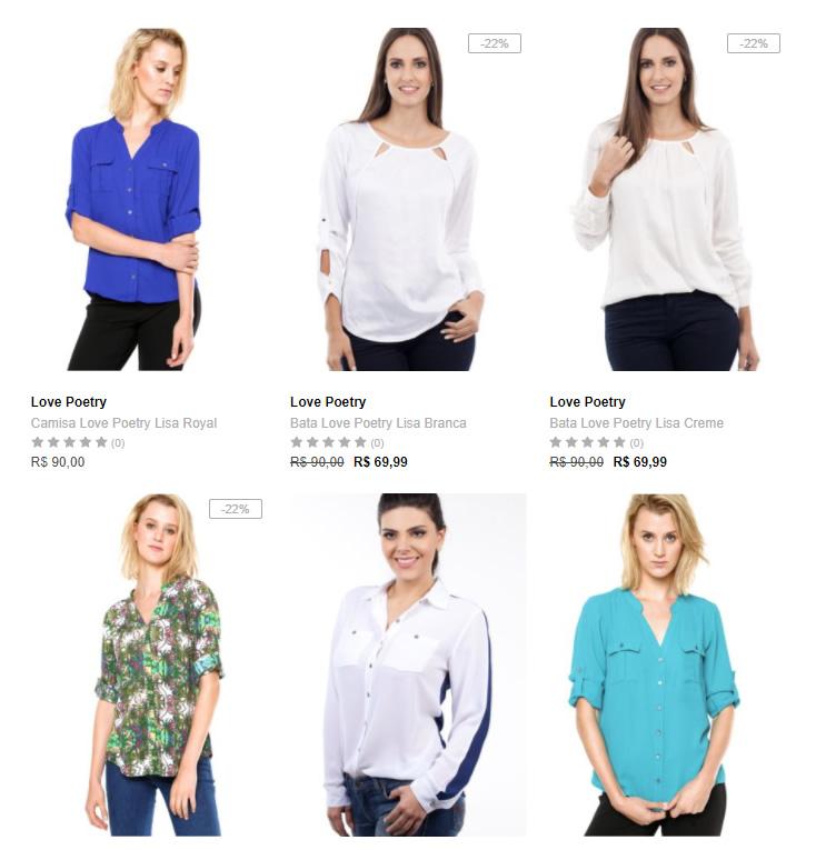 camisas - Dafiti - 2 Camisas por R$ 129