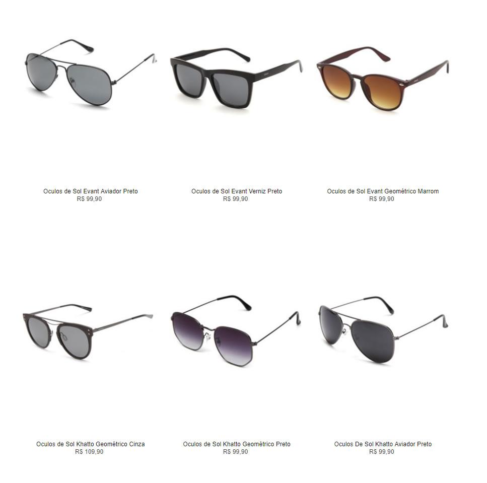 oculos de sol - Óculos de Sol - R  99,90 Diversos Modelos 39b676e864