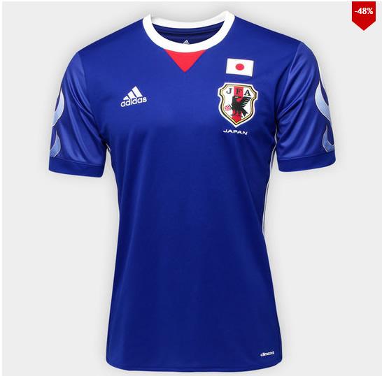 camisa japao - Camisa Seleção Japão Home - R$ 129,90