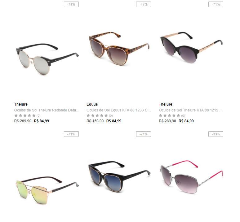 fcc21002051da Dafiti - 2 Óculos de Sol por R  129 - Pirata dos Descontos