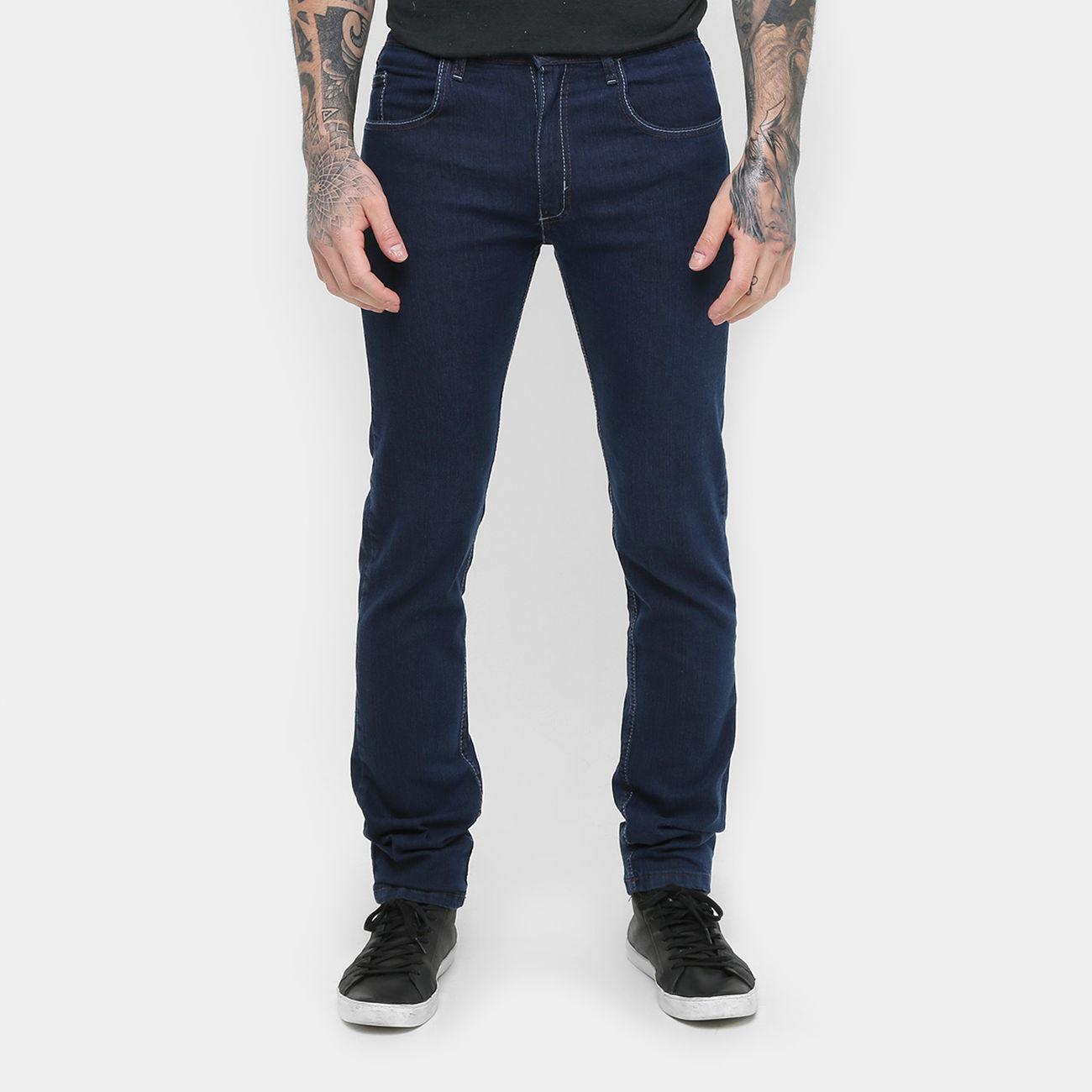 calcajeabs - Calça Jeans Skinny - R$41,90