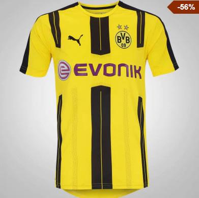 camiseta borussia - Camisa Borussia Dortmund - R$109,99
