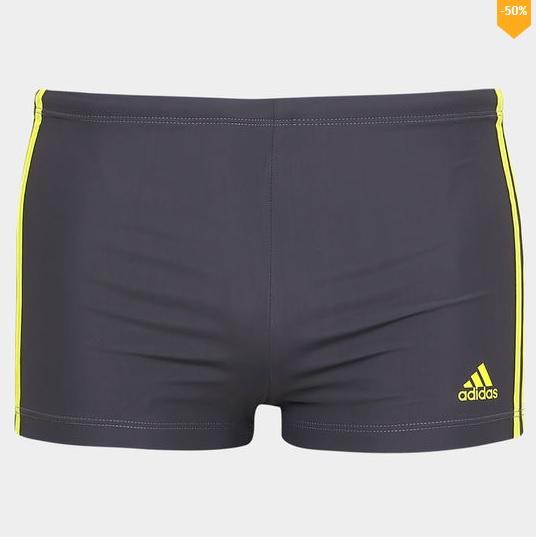 sunga - Sunga Adidas Boxer I3S - R$49,90