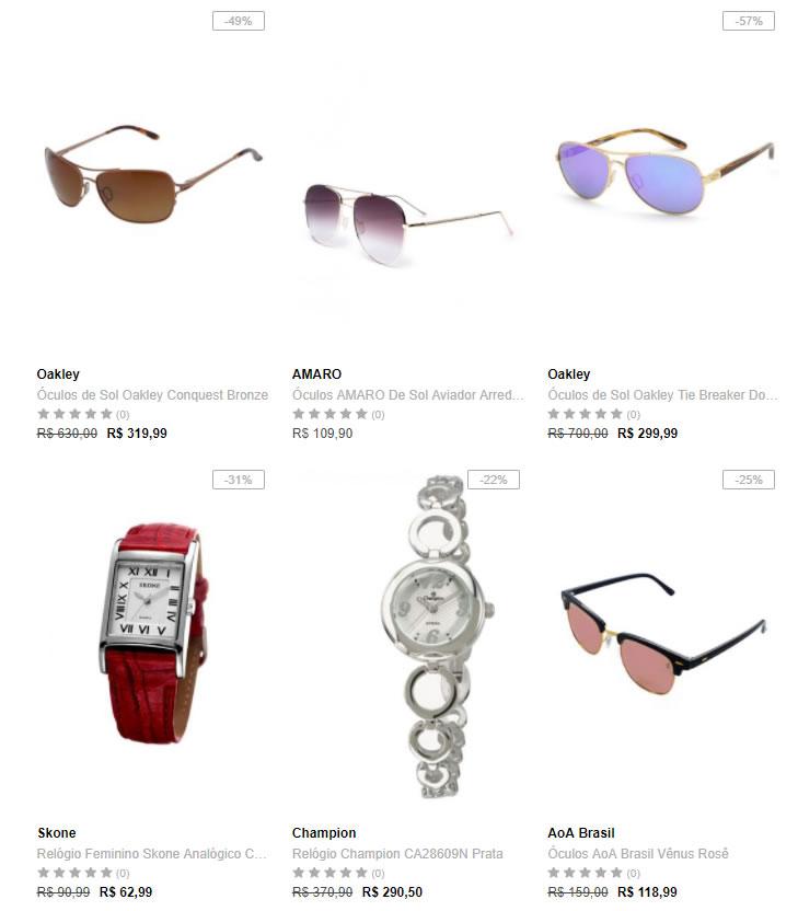 oculos relogios - Óculos e Relógios na Dafiti com até 40% OFF