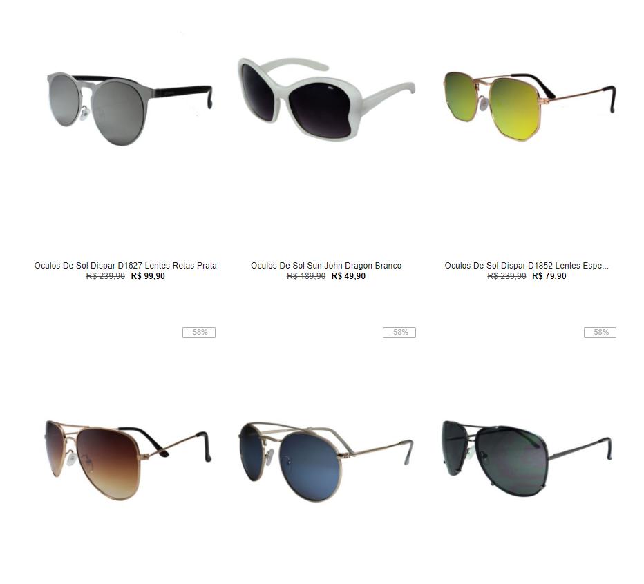 oculos - Kanui - 2 Óculos por R$89