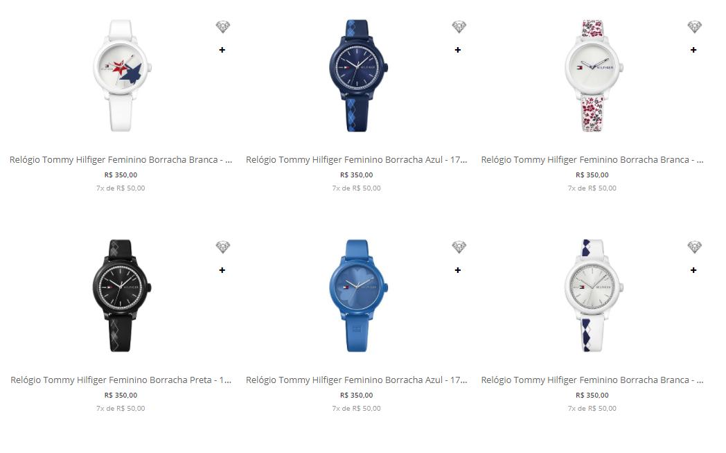 relogio tommy hilfiger - Vivara - Relógios Tommy Hilfiger - R$ 350 Cada