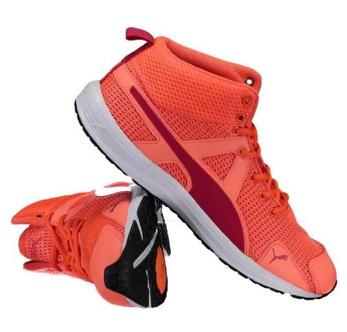 tenis puma laranja - Tênis Puma Evader XT Mid Geo - R$ 129,90